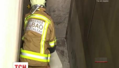Пожарные провели операцию по спасению кота в испанском музее Гуггенхайма