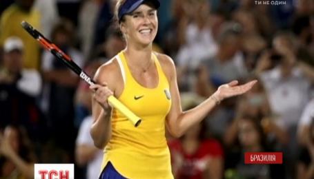 Українська тенісистка створила спортивну сенсацію на Олімпійських іграх