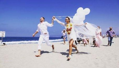 Экс-NIKITA Юлия Бричковская отгуляла роскошную свадьбу в Лос-Анджелесе