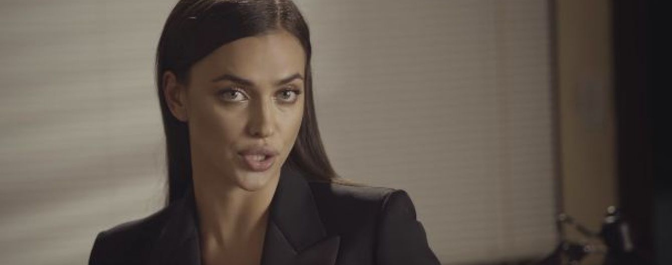 Сексуальна Ірина Шейк втілила образ звабливого адвоката