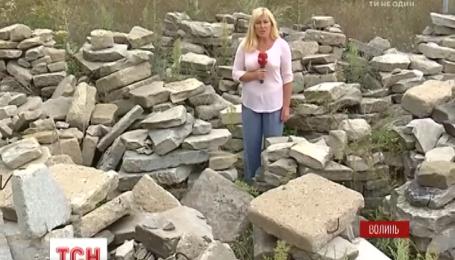 Міжнародний скандал на Волині: на місці страти жертв Голокосту влаштовують пересувні шапіто