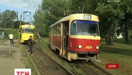 В Харькове восстановили движение трамваев