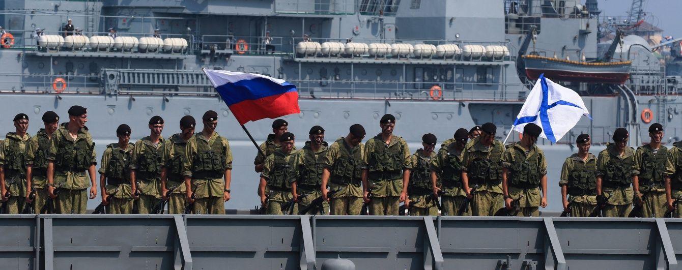 РФ заявила, що нарощування війського потенціалу в окупованому Криму не спрямоване проти НАТО
