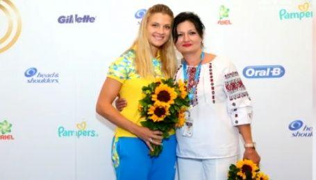Самая титулованная фехтовальщица Украины Ольга Харлан подарила маме путешествие в Рио