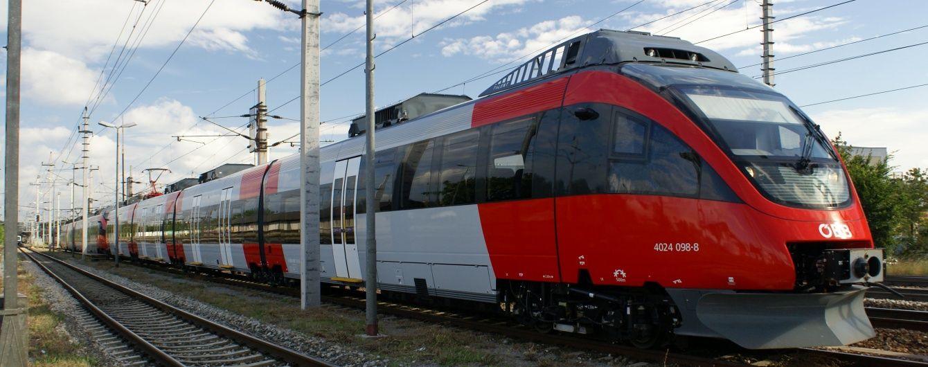 В Австрії невідомий з ножем напав на пасажирів просто у поїзді