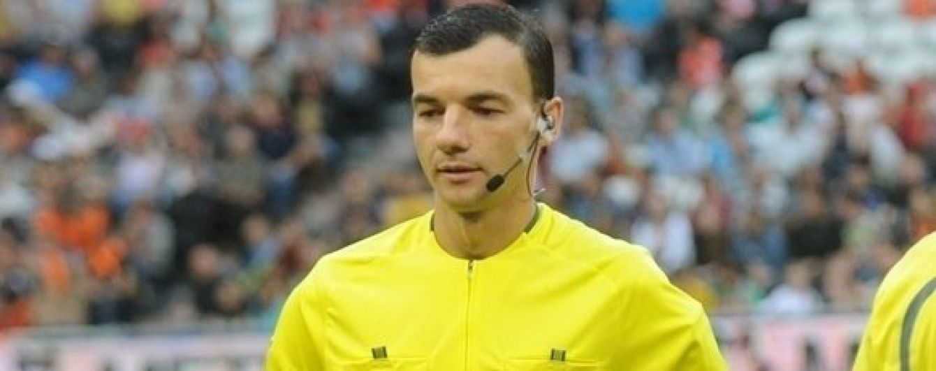 УЄФА призначив українського арбітра на матч плей-оф Ліги Європи
