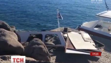 Четверо туристов погибли в Греции после столкновения лодки со скоростным катером