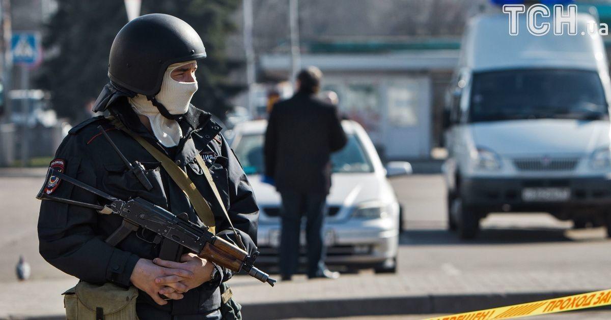 ФСБ заявила о задержании в Крыму двух россиян по подозрению в госизмене в пользу Украины