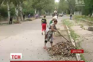 Во фронтовой Красногоровке установили современные фонари за полтора миллиона гривен