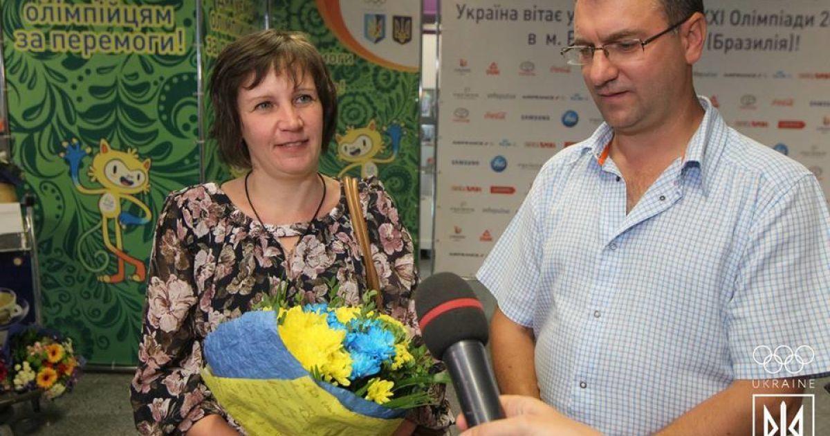 Сергій Куліш, який приніс Україні першу олімпійську медаль Ріо, повернувся до України. @ НОК України