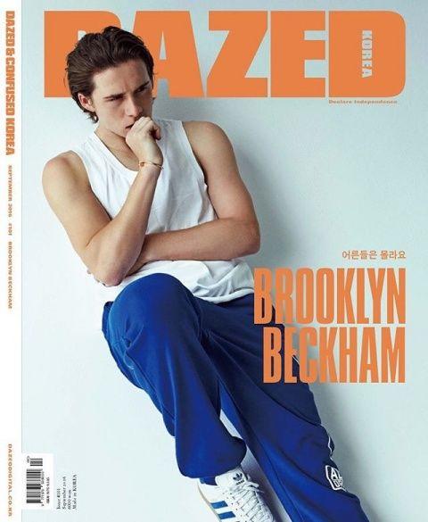 Бруклін Бекхем для Dazed & Confused_1