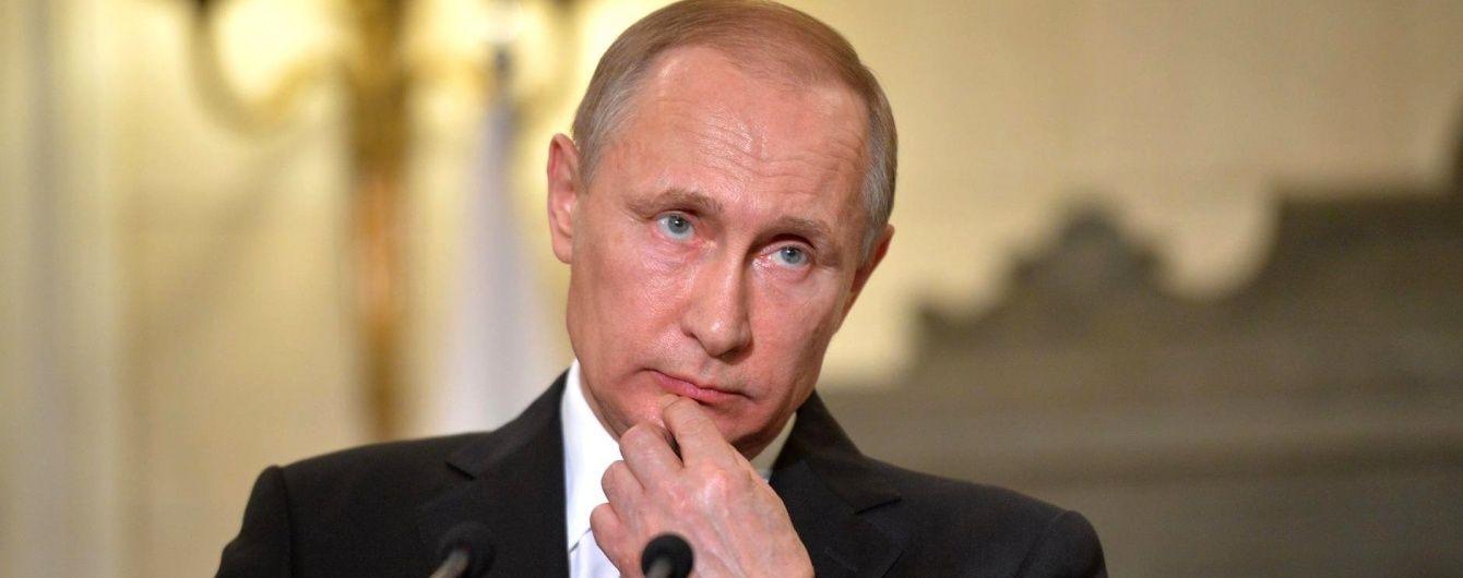 Путін прибув до окупованого Криму