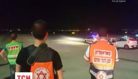 Самолет Тель-Авив - Киев два часа кружил над аеропортом, чтобы сделать экстренное приземление