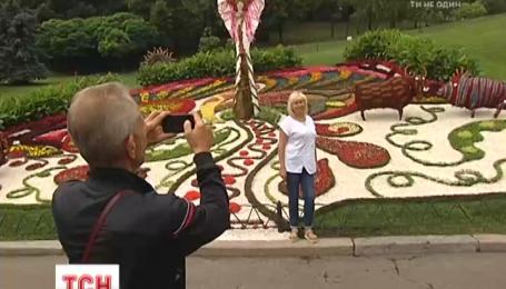 На Певческом поле ландшафтные дизайнеры создали живые памятники выдающимся украинцам