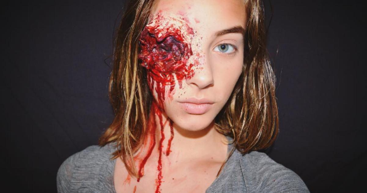15-летняя звезда Instagram с кровавым мейкапом и воинственные фото девушки-бойца АТО. Тренды Сети