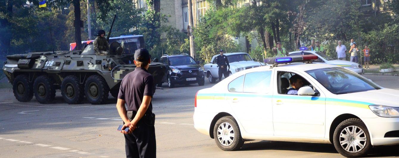 В Киеве начинается очередной транспортный коллапс из-за репетиции военного парада