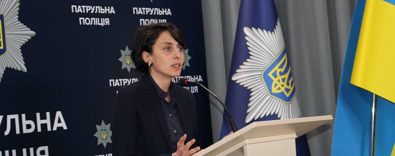 """Деканоідзе оголосила новий набір до патрульної поліції та розповіла про створення """"тактичних груп"""""""