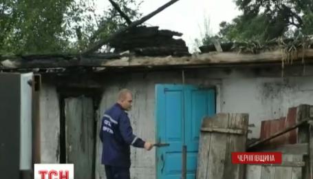 Игра со спичками: во время пожара на Черниговщине погиб мальчик