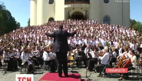 С тремя всеукраинскими рекордами в Коломые отпраздновали 775-летие города