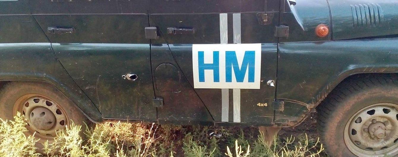 Під Світлодарськом бойовики обстріляли спостерігачів української сторони СЦКК