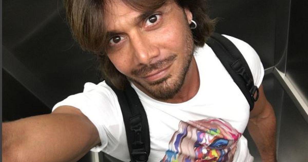 Чоловік Білик носить футболку з її фото @ nstagram.com/aslanahmadov