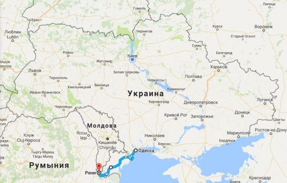 Гройсман показав оновлену трасу Одеса — Рені
