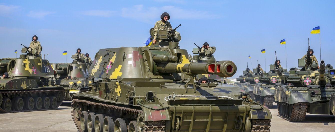 Військові задоволені отриманою в Чугуєві технікою і збираються в АТО