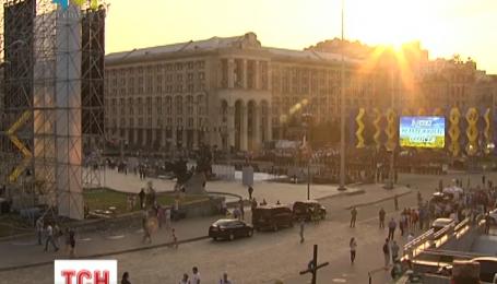 В целях безопасности ко Дню Независимости полиция Киева перешла на усиленный режим несения службы