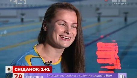 Мировая чемпионка по плаванию Ольга Свидерская показала свою закрытую тренировку