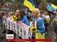 Хода нескорених: родини загиблих у зоні АТО також вийшли парад на Хрещатику