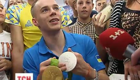 Олімпійський чемпіон Олег Верняєв влаштував автограф-сесію у Києві