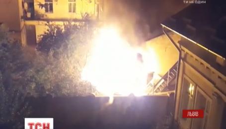 У Львові онук підпалив будинок із дідусем і бабусею всередині