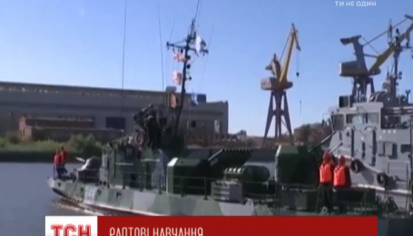 В Черном и Каспийском морях заметили боевые суда РФ