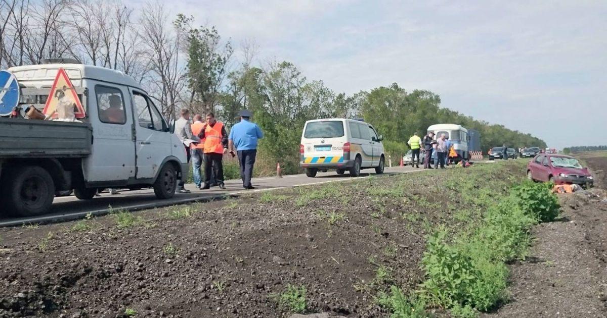 Фото з місця аварії @ mediaport.ua