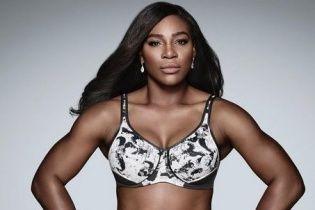 Спортивная Серена Уильямс снялась в рекламной кампании нижнего белья
