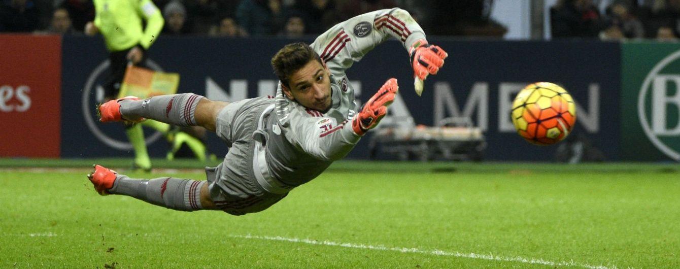 """Голкіпер """"Мілана"""" став наймолодшим гравцем збірної Італії за останні 105 років"""