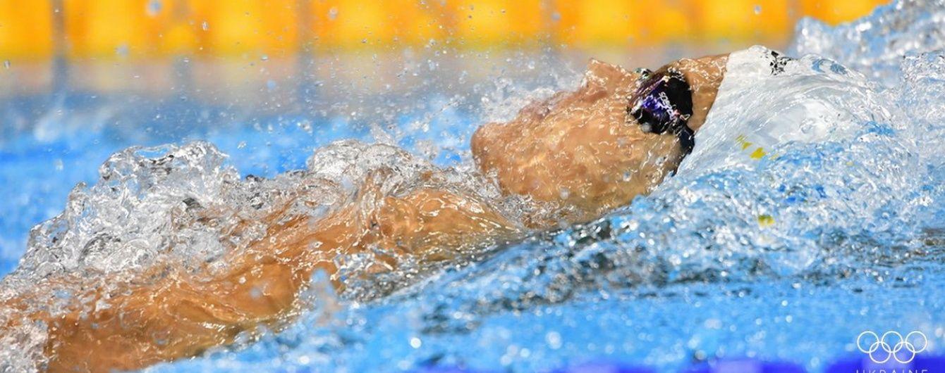 Украинские пловцы завоевали четыре медали в первый день Кубка мира
