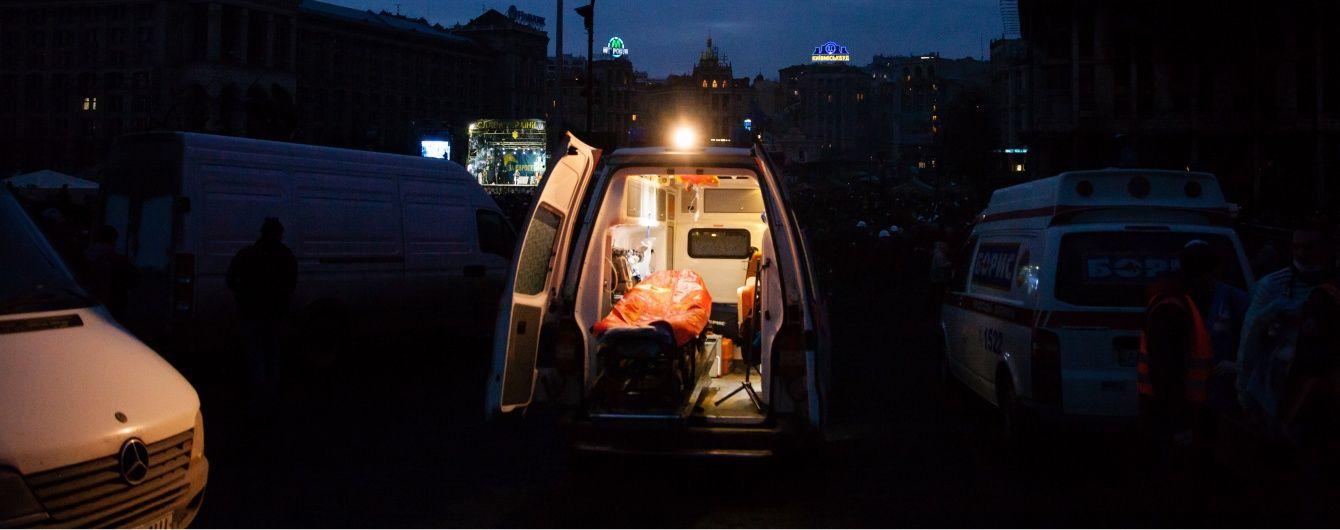 В Киеве водитель на тротуаре насмерть сбил пешехода и скрылся с места ДТП