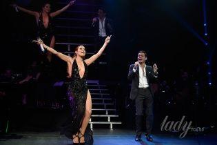 Снова вместе: Дженнифер Лопес и Марк Энтони на концерте в Нью-Йорке