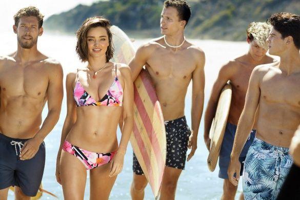 Миранда Керр в рекламной кампании бренда Bonds Swim 2016_9