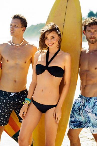 Миранда Керр в рекламной кампании бренда Bonds Swim 2016_10