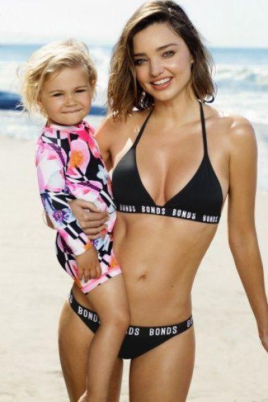 Миранда Керр в рекламной кампании бренда Bonds Swim 2016_8