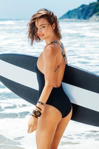 Миранда Керр в рекламной кампании бренда Bonds Swim 2016_3