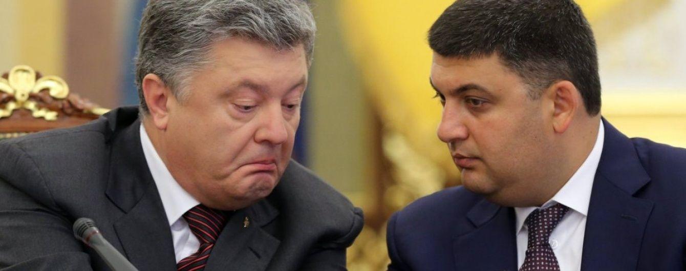 Ющенко на базарі чи вуса Зіброва. ТСН.ua уявив, чим Гройсман здивував Порошенка на телефоні