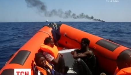 Береговая охрана Италии провела 40 спасательных операций в сутки