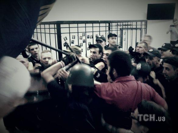 Сутички у Шевченківському суді, Гуменюк_2