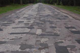Найгірша дорога в Україні має протяжність 20 км