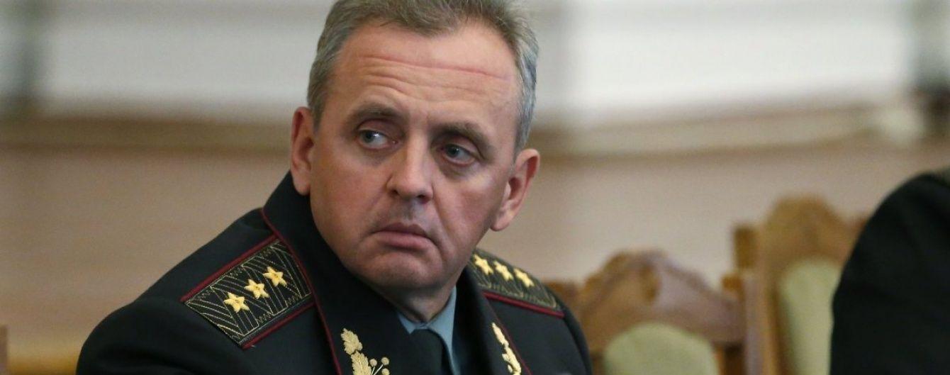 Комітет Ради з нацбезпеки просить Порошенка звільнити Муженка