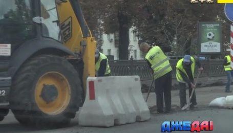 Кличко пообещал отремонтировать Большую Кольцевую дорогу
