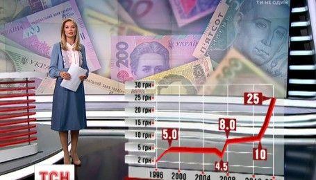 Национальная валюта гривна празднует день рождения